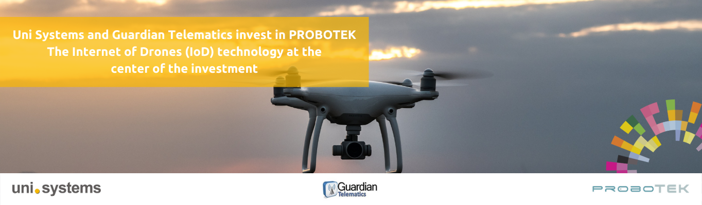 Uni Systems and Guardian Telematics invest in PROBOTEK